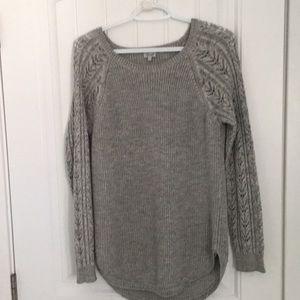 Kismet Grey Sweater Tee